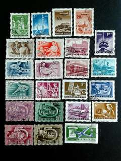 Hungary vintage stamps