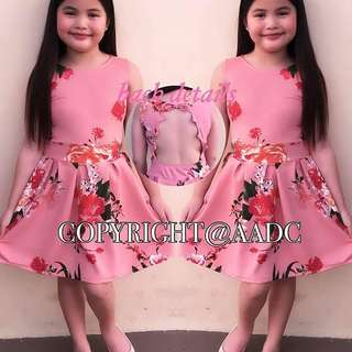 APR 18 KIDS DRESS (DAK)