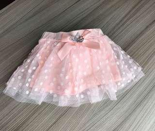 全新 皇冠軟紗裙褲(5碼)蕾絲裙 澎澎裙,非包屁衣 連身衣 包屁褲 蛋糕裙