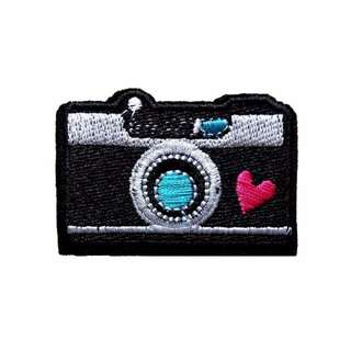 Camera Love Photography Iron On Patch