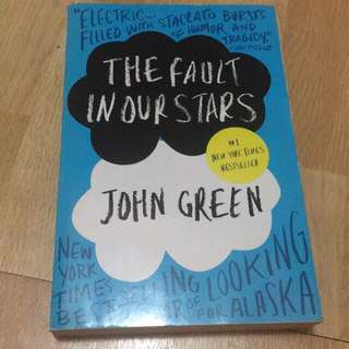 [PRELOVED] THE FAULT IN OUR STARS