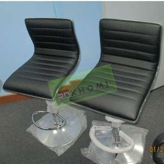 BAR STOOL AND CLERICAL CHAIRS--office partitions