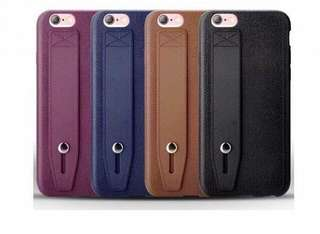 Leather Texture Soft TPU Case