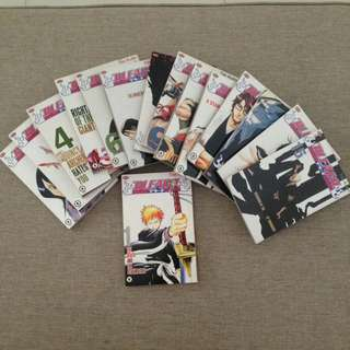 BLEACH comics
