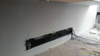 Lito Electrical. Home reno , conceal UBIQ and track light.