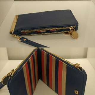 Purple Multi-card wallet
