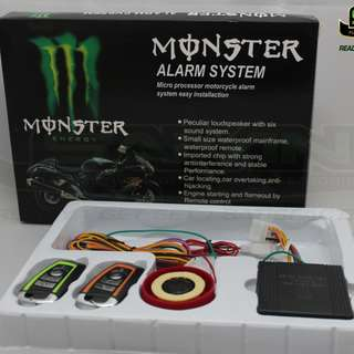 Monster Security Alarm (Non-Voice)