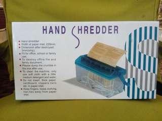 Mini Paper Shredder