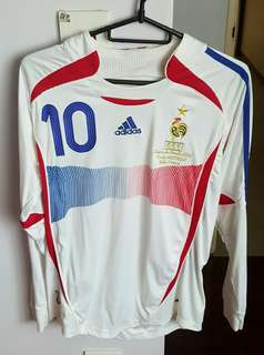 France World Cup Final 2006 Jersey