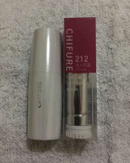 Chifure moisture matte lipstick shade #212 w/free case