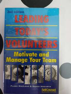 Leading Today's Volunteers (2nd Edition)
