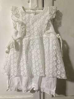Nicolas and bears baby dress