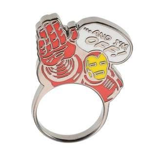Japan Disneystore Disney Store Marvel Iron Man 01 Comic Ring