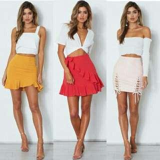 Lexi Crop Top w/ Skirt