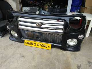 Japan l9 move rs front bumper for Kenari