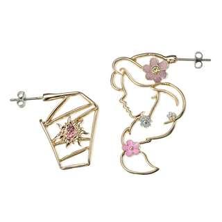 JAPAN DISNEYSTORE, JAPAN IMPORTED: Earring series -  Simple Jewelry series Rapunzel earring
