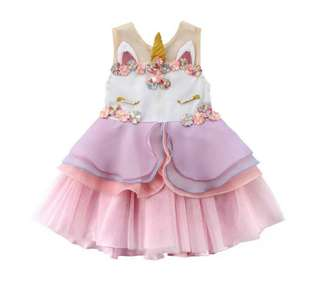 Unicorn Girl Dress