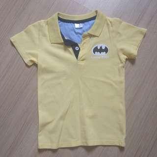 Boy yellow polo shirt