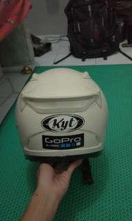 Helm KYT RC7 White rainbow visor