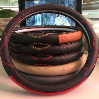 STEERING COVER (LEATHER)
