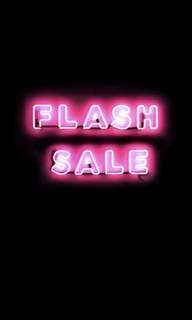 FLASH SALE!!!!' ALL MUST GO!