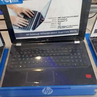 Laptop HP AMD Quad Core A10-9620P (Kredit BUNGA 0%)