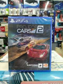 🆕 PS4 Project Cars 2