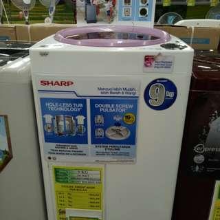 Cicil Mesin Cuci Sharp Hanya Cukup Bayar admin 199rb Proses 3Menit