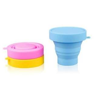 食品級矽膠 摺疊水杯