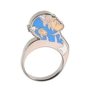 Japan Disneystore Disney Store Marvel Captain America 01 Comic Ring