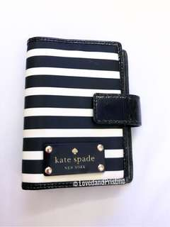 Kate Spade Striped Planner/Agenda (PM size)