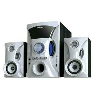 READY! Speaker Aktif Polytron PMA 9505 (White) Bisa dicicil!!