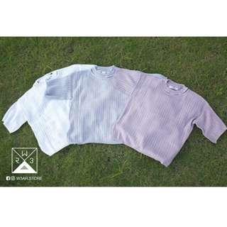 短袖針織衫