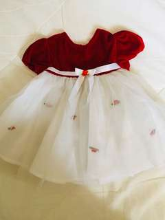 Baby princes dress