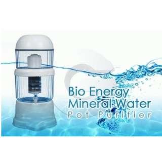 alat penyaringan air minum - mineral pot 28 liter bio energy