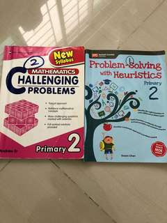 P2 Math Assessment Books(Lightly used)