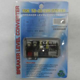 SPEAKER LEVEL CONVERTOR