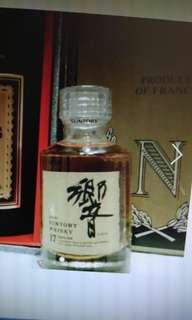 陳年老日威,金花標響17年威士忌酒辦50ml一支 。