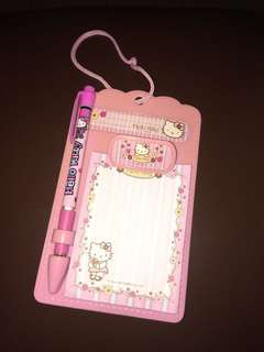 HK mini clipboard with mechanical pencil