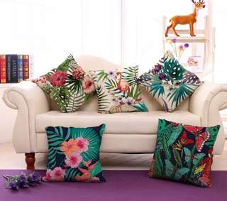 Plant Cushion Covers