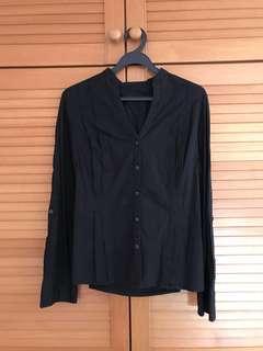 Calvin Klein Women's black blouse