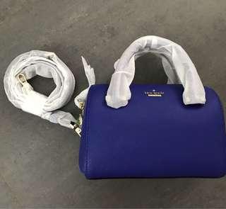 美國直送 全新Kate Spade 藍色小手袋