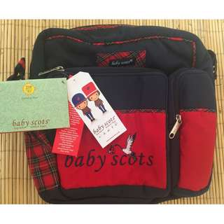 Baby Scots Embroidery Medium Bag