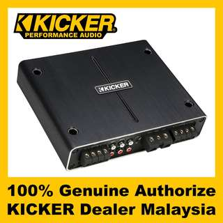 KICKER 500W Q-CLASS 2 OHM 4 CHANNEL AMPLIFIER (42IQ5004)