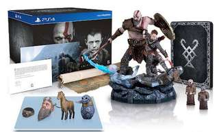 PS4 - GOD OF WAR 4 COLLECTOR'S EDITION
