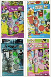 Children digital watch (Snow White/ Batman/ Minnie Mouse)