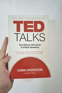 Ted Talk Guide to Public Speaking