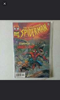 2 (yes Two comics) Limited edition Spiderman comics bought from London