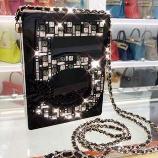 香奈兒Chanel 水鑽 NO. 5 字母 積木 很閃很美哦!~值得收藏 ✨原價又是快10萬的限量版❕有盒子,有卡 我們好價港幣