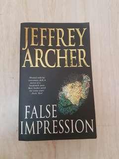 Jeffrey Archer False Impression